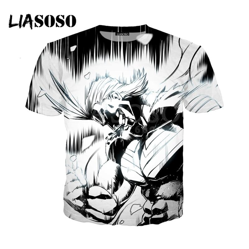 LIASOSO NEW Anime Boku No Hero My Hero Academia Cosplay Tees 3D Print t shirt/Hoodie/Sweatshirt Unisex Good Quality Tops G1368