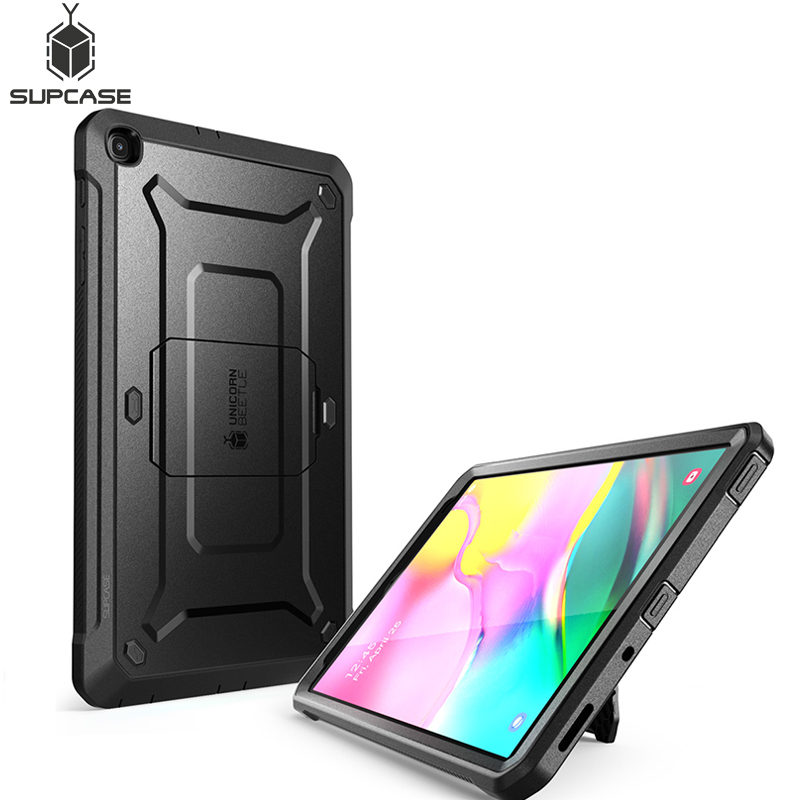 For Samsung Galaxy Tab A 8.0 Case 2019 Release SM-P200 /P205 SUPCASE UB Pro Full-Body Rugged Case With Built-in Screen Protector