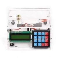 Diy كيت 10 كيلوجرام 1 جرام سعر استشعار الضغط مقياس usb الإلكترونية ساعة شفافة قذيفة