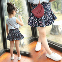 Ballet Skirts For Girls Tutu Rok Anak Kids Petticoat Clothes Cotton Short Floral Cute Children Infant