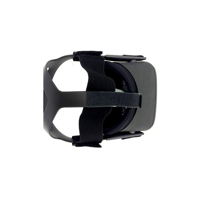 Dla Oculus Quest VR kask głowy odciążający ciśnienie pasek zewnętrzne urządzenie do Oculus VR Quest rozciągliwy pasek dociskowy
