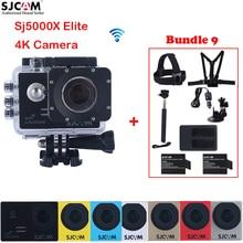 "Original SJCAM Sj5000 Serie SJ5000X Elite 2.0 ""WiFi NTK96660 Mini 30 M Cámara de Acción Deportiva Impermeable Sj Cam DVR + accesorios"