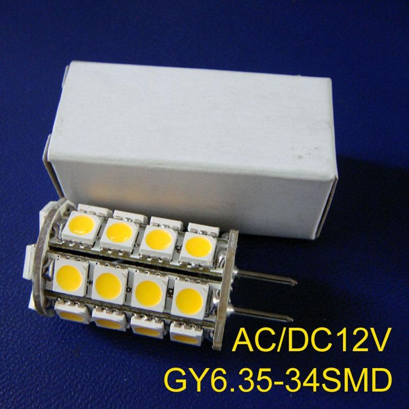 Use high quality 5050 leds AC/DC12V GY6.35 bulbs,GY6.35 led lights,AC12V G6.35 led lights GY6 LED lamps free shipping 5pcs/lot high quality 5050 leds ac dc12v gy6 35 led lamps g6 35 led crystal lamp 12v gy6 led bulbs lights free shipping 8pcs lot