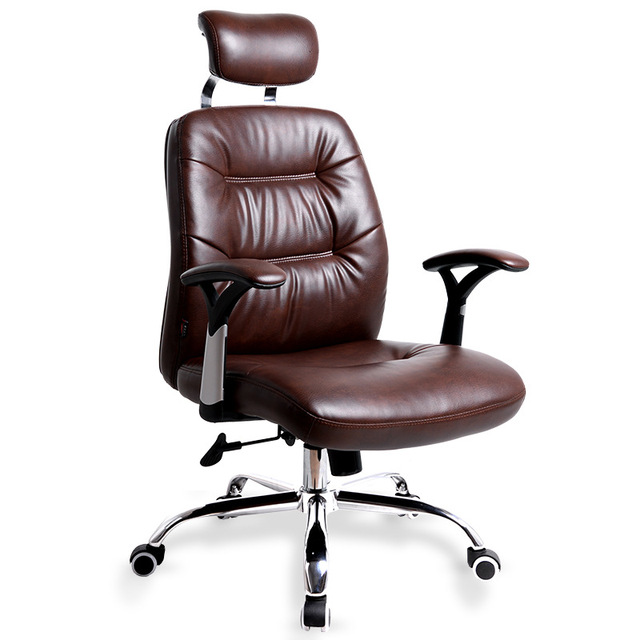 Simple Fashion Modern Computer Chair Home Office Chair Comfortable Headrest  Lifting Seat Chair Heighten Backrest Lying