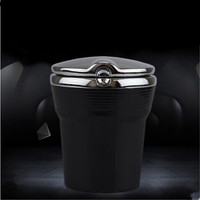 Car Styling auto Cigarette ashtray with LED lamp case For  Volvo S30 S60 S80 S40 XC60 XC90 V40 V60 C30 XC70 V70 FREE SHIPPING|ashtray led|ashtray for carashtray cigarett -
