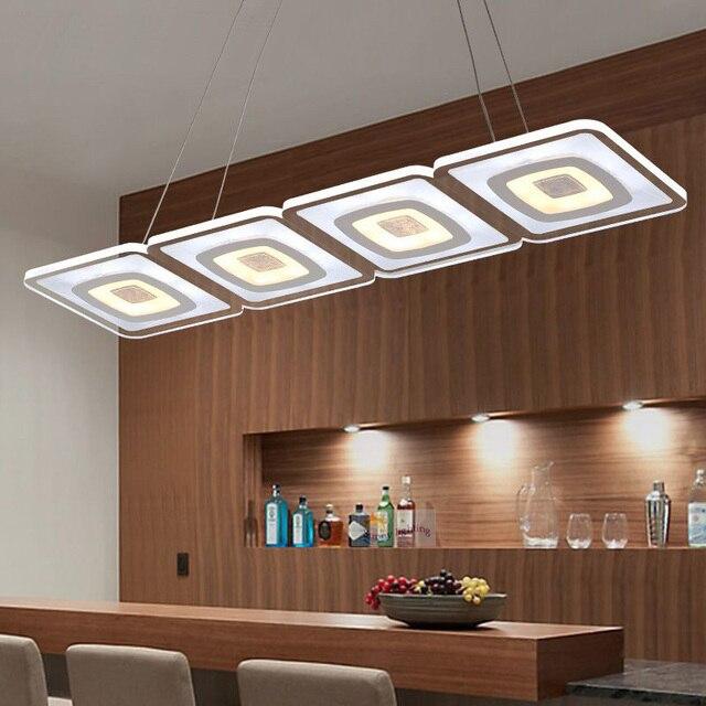 Vente chaude Moderne Ultra mince acrylique led lumières et éclairage ...
