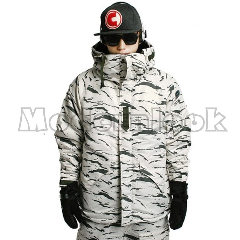 "New Edition ""Southplay"" Winter Waterproof Ski Snowboard Jacket OR Pants - White Sand"