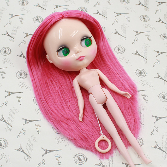 TBL Neo Blythe Doll Pink Hair Regular Body