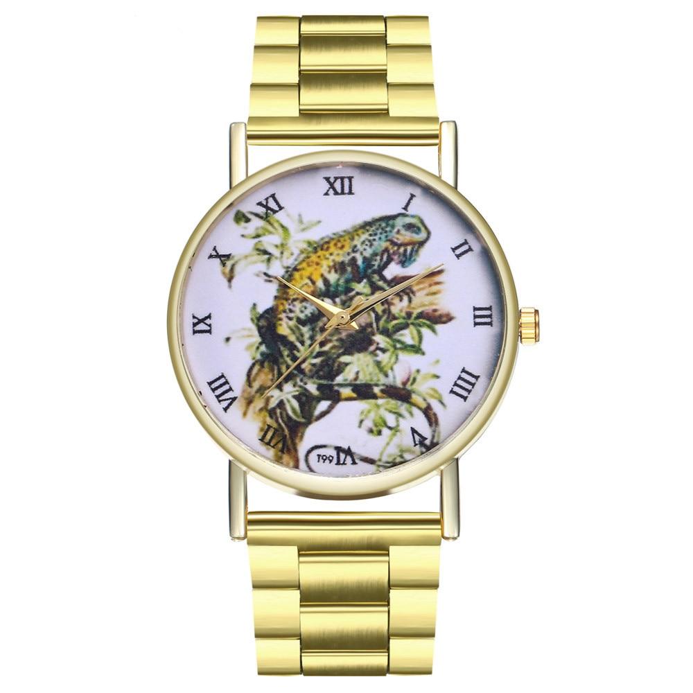 Bracelet Watches Clock Flower Quartz Printed Women's Cute Fashion Causal Feminino Relogio