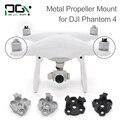 PGYTECH DJI phantom 4 Hélice De Metal Soporte de Montaje Adaptador de Soporte de motor conector drone Phantom4 Silve negro partes accesorios