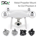 PGYTECH DJI phantom 4 Metal Propeller Bracket Mount Phantom4 Silve black Holder Adapter motor connector drone parts accessories