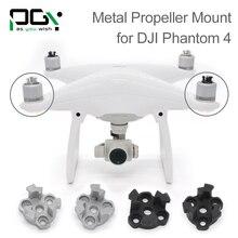 PGYTECH DJI phantom 4 Metal Propeller Bracket Mount Phantom4 Silve black Holder Adapter motor connector drone parts accessories