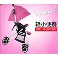2016 New design two direção dobrável carrinho de bebê bebê deitado e sentado Crianças carrinho de alumínio Ultraleve VOTC-2