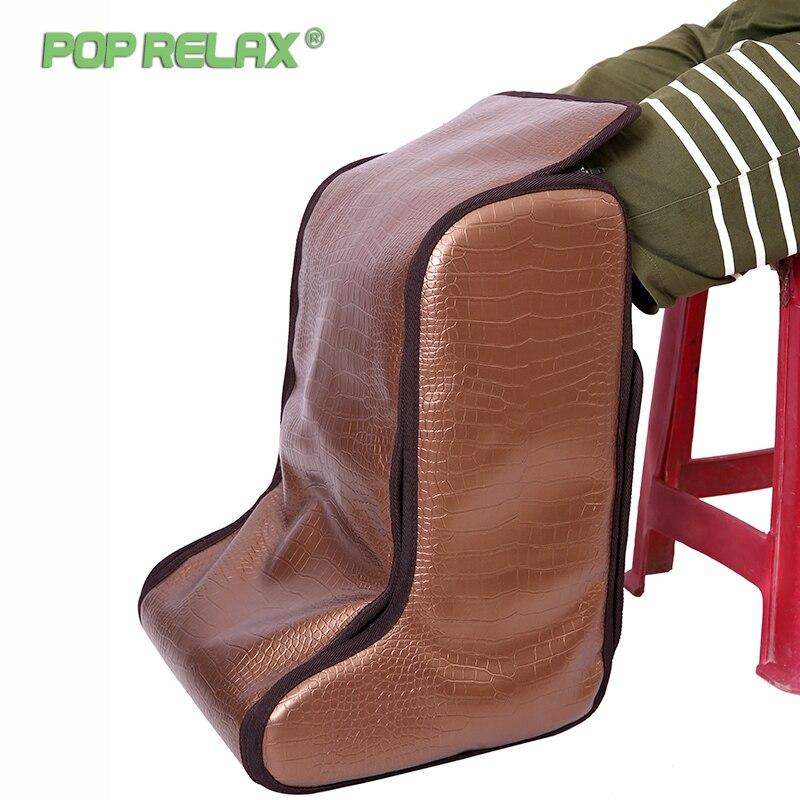 Электрический массажный коврик для ног popрасслабиться, мини массажный коврик для ног с инфракрасным подогревом для расслабления ног, спа ма