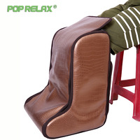 Poprelax Mini Foot Sauna Room Electric Foot Massage Mat Health Far Infrared Heating Therapy Foot Relax Care Spa Leg Massager Can
