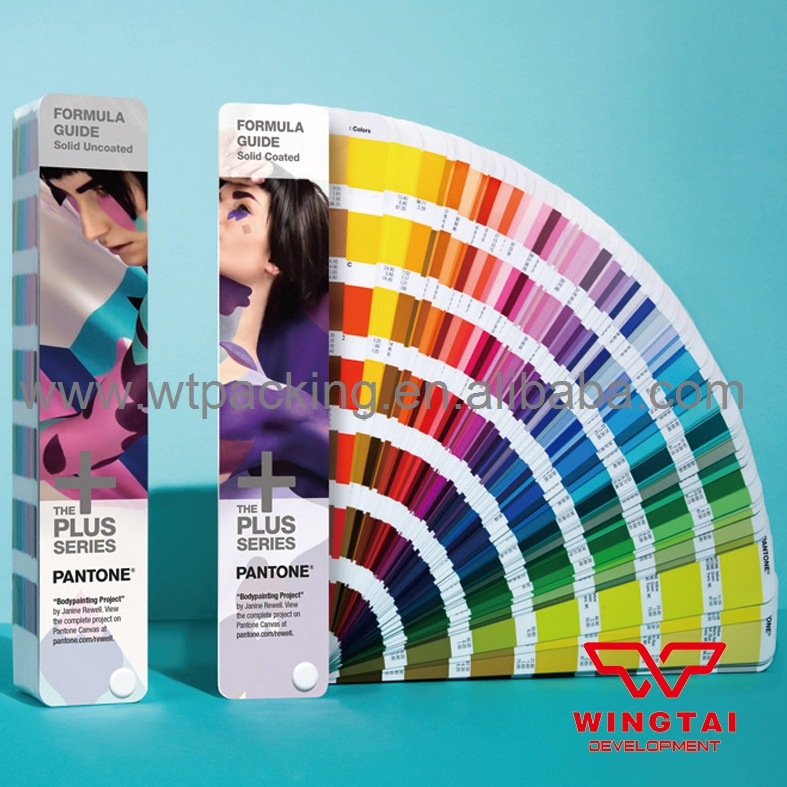 Pantone Color Guide Solid Coated & Uncoated For Printing Industry GP1601N original pantone plus series solid guide set gp1605n coated