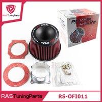 APEXI Performance Mushroom Head Universal Intake Air Filter 75mm Dual Funnel Adapter OFI011