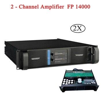 FP 14000 Power Verstärker 2x2350 w/8ohm RMS Ausgang Lautsprecher Subwoofer Linie Array 2 Kanal High Power verstärker Für Disco DJ Party