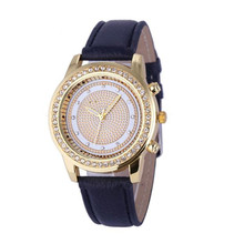 Womens Quartz Watches 1 PC Diamond Watches for Women Rhinestone Crystal Dail Analog Stainless Steel Wrist Watch Wholesale 40M10