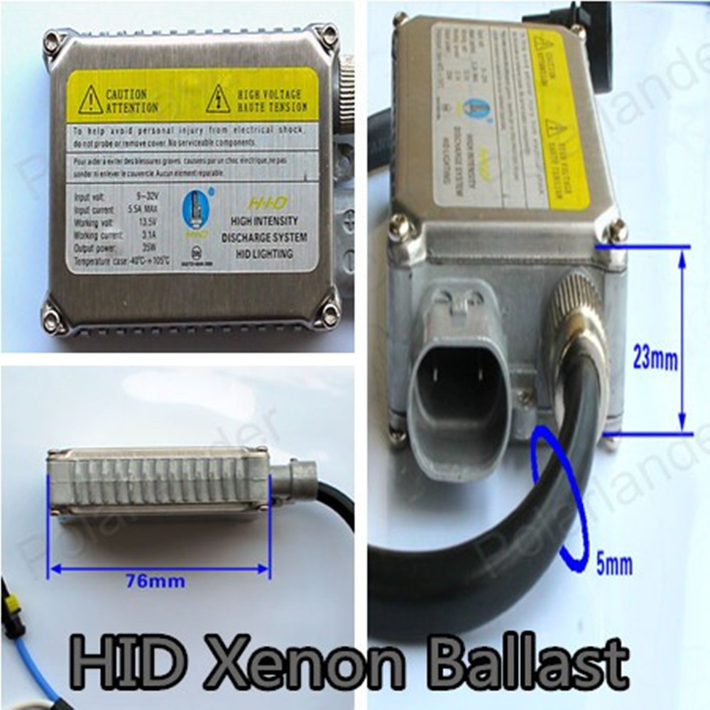 ФОТО Polarlander 2pcs High Quality Car Headlights Ballast Truck/Cars Universal 9-32V 35W CANBUS Xenon  Ballast