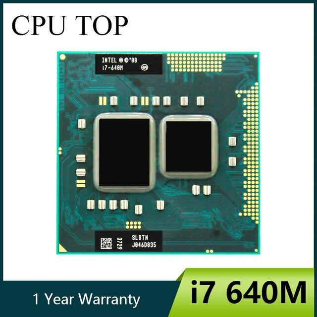 インテルコア I7 640 メートル slbtn デュアルコア 2.8 ghz の L3 4 メートル cpu プロセッサ上で動作 HM55intel core i7intel core i7 640mintel core