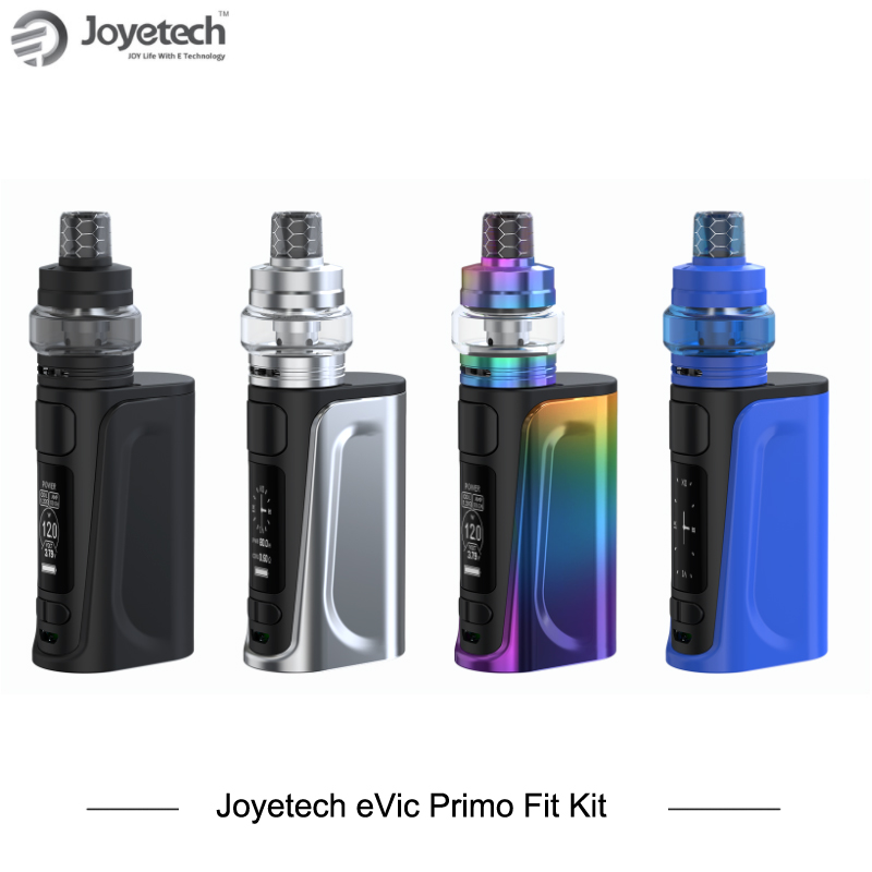 Original Joyetech Evic Primo Fit Kit eVic Primo Fit with EXCEED Air Plus 3ml Tank Capacity Big Display 80w Box Mod Starter Kit стоимость