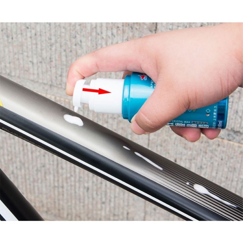Bicycle Paint Quick-Acting Glazing Wax Paint Polishing Agent Decontamination Wax Glazing Wax Maintenance