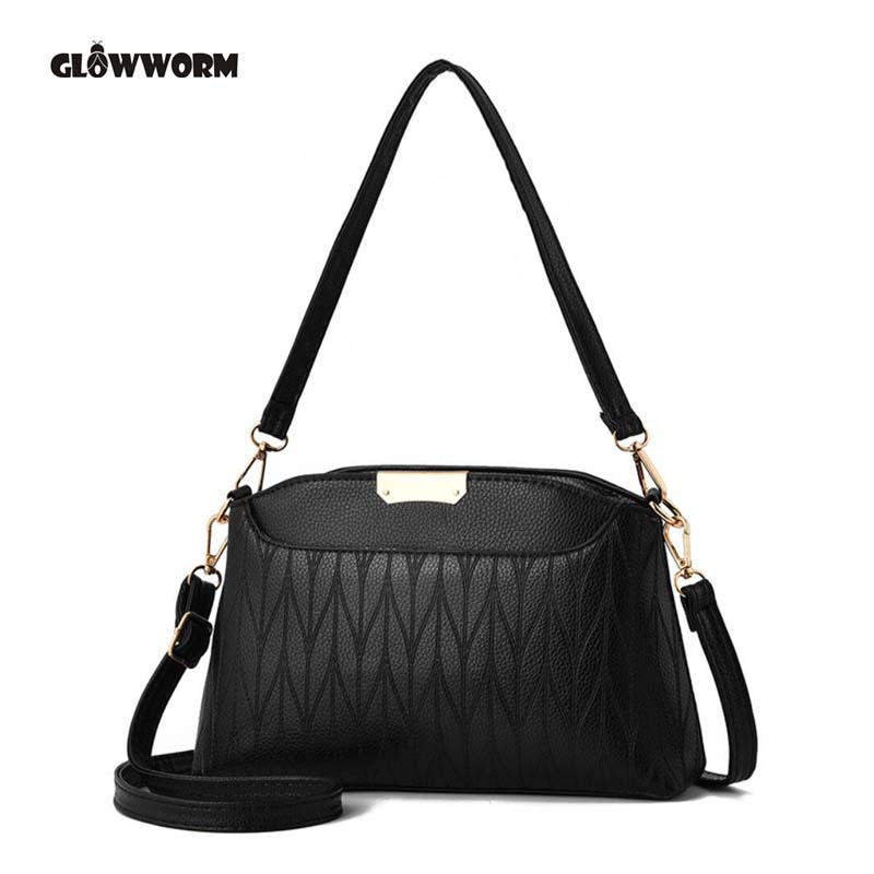New Chain Strap Women Bags Fashion Messenger Shoulder Bag PU Leather Ladies Handbags Crossbody Bags For Women