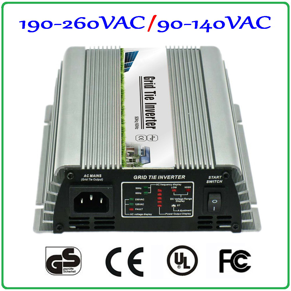 200w On Grid Tied Inverter  22~60V DC to AC 90-140V or 190-260V pure sine wave output micro grid tie inverter 200W 2-year warran 300w solar grid on tie inverter dc 10 8 30v input to two voltage ac output 90 130v 190 260v choice
