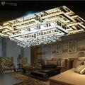 Роскошные современные потолочный светильник с абажур золото потолок для гостиной спальня lamparas де techo abajur