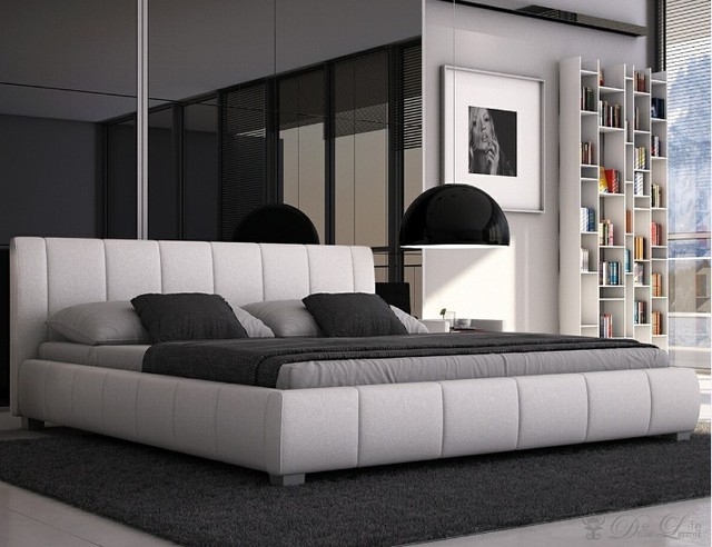 MYBESTFURN Design Moderno, intelligente Genuino Poggiatesta in pelle ...