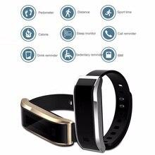 Мода Смарт часы-браслет TW07 для Iphone и Android телефон Смарт часы браслет SmartBand Спорт браслет