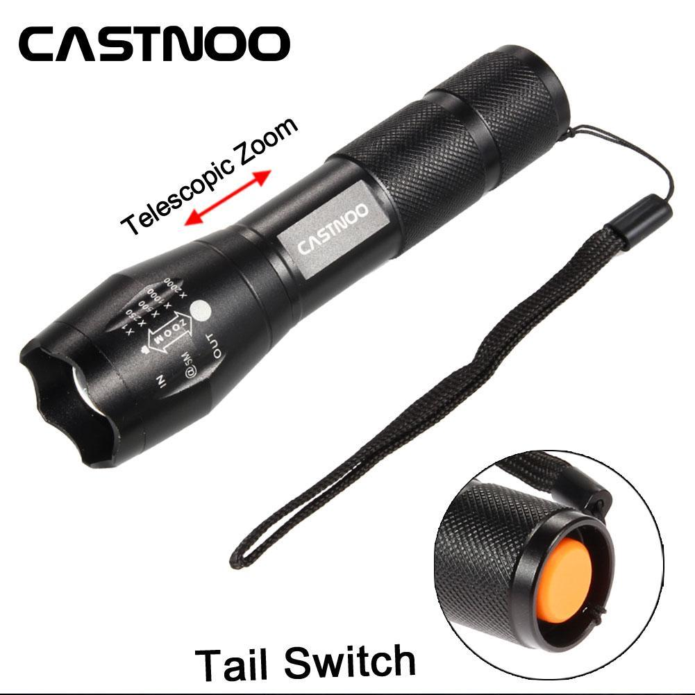 castnoo 5000 lumen 5 modes cree xml t6 led flashlight. Black Bedroom Furniture Sets. Home Design Ideas