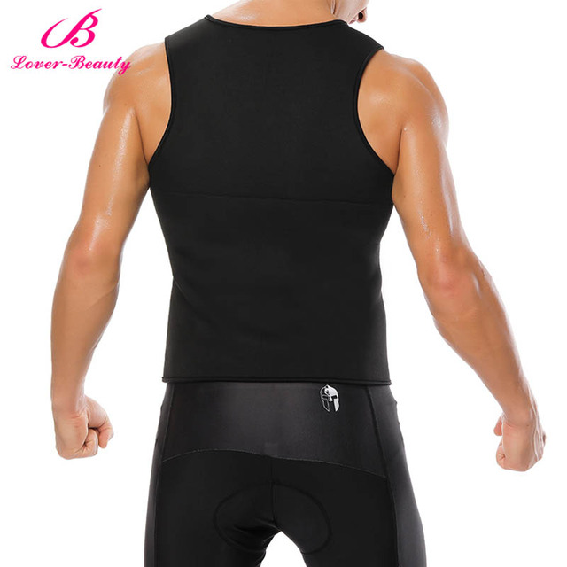 Lover Beauty Slimming Belt Belly Men Slimming Sweat Vest Body Shaper Neoprene Abdomen Fat Burning Shaperwear Waist Corset 3