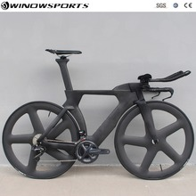 Chinese TT Bike aero carbon time trial bicycle triathlon TT bike with DI2 22 spe