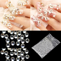 FANALA 20000 pcs Strass para Decoração de Unhas Art Limpar Glitter 1.5mm Cristal Rhinestone Fix Strass Arte Do Prego 3d Adesivos