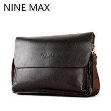 fa2ef03f026c Polo High Quality Cowhide Split Leather Men Shoulder Bags Messenger Bag  Fashion Luxury Clutch Pocket Business