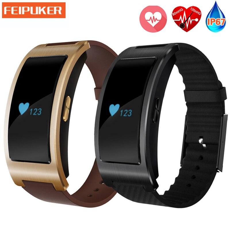 Bluetooth Smart Watch CK11 Smart Bracelet Band blood pressure Heart Rate Monitor
