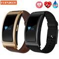 Bluetooth smart watch ck11 inteligente pulsera banda de presión arterial heart rate monitor podómetro gimnasio banda inteligente para android iphone