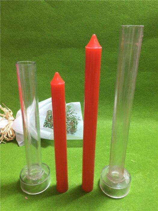 DIY Iglesia Top pequeño diámetro 2.2 cm vela que hace el modelo de la vela, vela forma de la bola molde para DIY