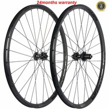 SUPERTEAM MTB Carbon Wheelset 29er Bicycle Wheels Hookless Cyclocross Bike Wheels M6 Taiwan Hub UD Matte Surface(China)
