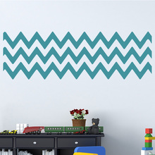 DIY Chevron Stripes Wall Stickers Decorative Chevron Wall Decal Removable Wall Decoration Modern Mural Wallpaper Home  sc 1 st  AliExpress.com & Buy stripe wall stickers and get free shipping on AliExpress.com