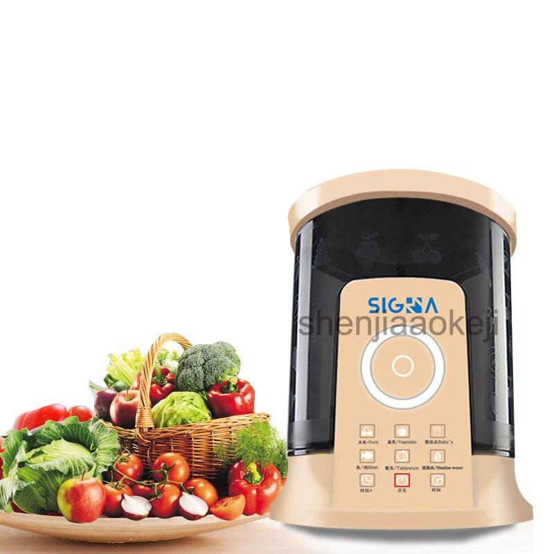 Household Automática Purificador De Alimentos Frutas e Limpeza Vegetal máquina de Desintoxicação Máquina de Alimentos Máquina De Lavar Roupa 220v65w 1 pc