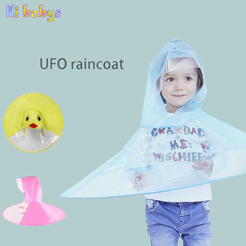 30996390c Detail Feedback Questions about UFO Children Duck Raincoat Umbrella ...