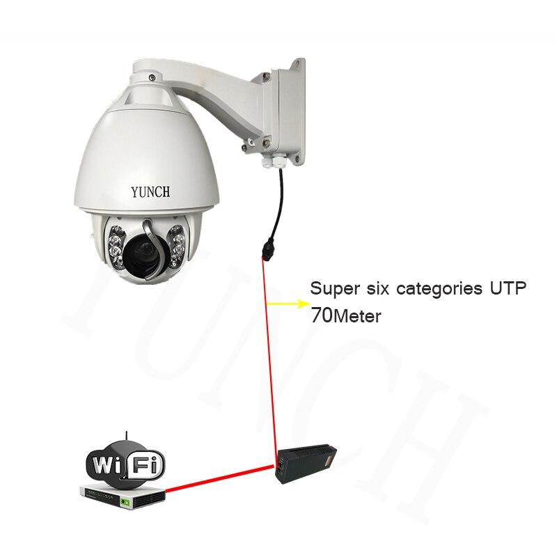 POE CCTV Kamera IP 20/30X Zoom Kamera Yüksek Hızlı Dome Ağ 1080 P - Güvenlik ve Koruma - Fotoğraf 5