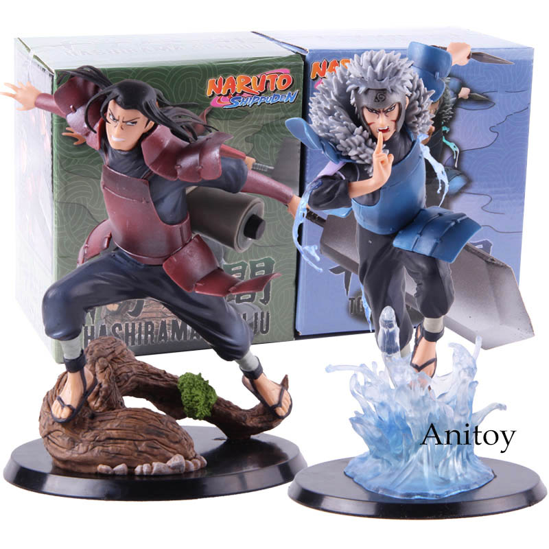 Hot Toy Anime Naruto Shippuden Hokage Hashirama Senju Tobirama Senju Action Figure Collectible Model Toy Gift