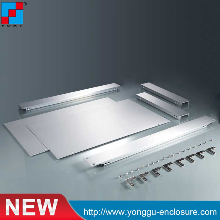 YGH-001--1u 482*44.5*250mm 19'1U Aluminum element instrument beauty case for holding 482 133 4 295 250mm aluminum communication video aluminum frame chassis housing case with handle ygh 002 3u