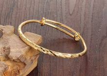 Модные регулируемые золотистые браслеты манжеты для женщин свадебные