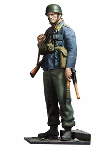 1/16 scale model resin figures kits soldier Raid the Netherlands 1638D(China)