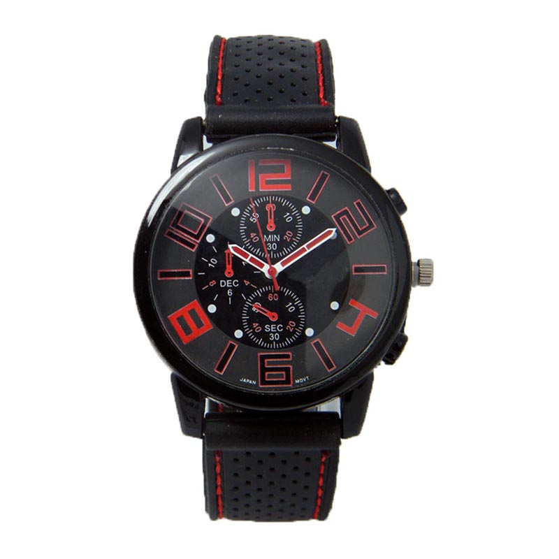 Watches Women Three Eye Sports Car Concept Relogio Masculino Fashion Sports Men Watch Relogio Feminino